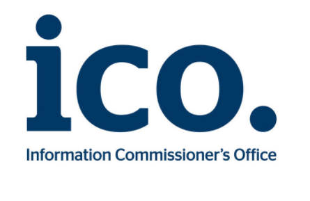 ICO. Information Commissioners Office Lgoo. Navy and in lower caps.
