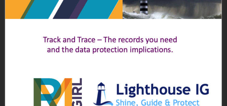 Track and Trace Webinar