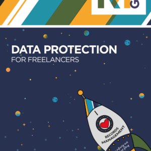 """Freelancers Guide Front Page - Says """"Data Protection for Freelancers - £25 - RMGirl"""""""