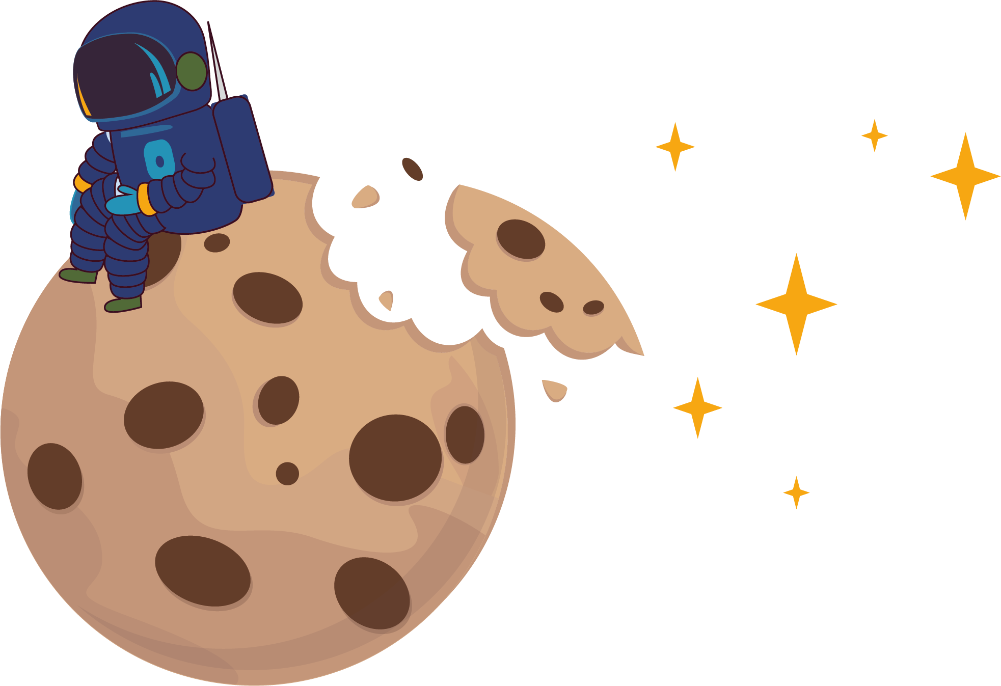 Cookie Astronaut